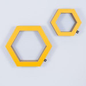 Étagère hexagon