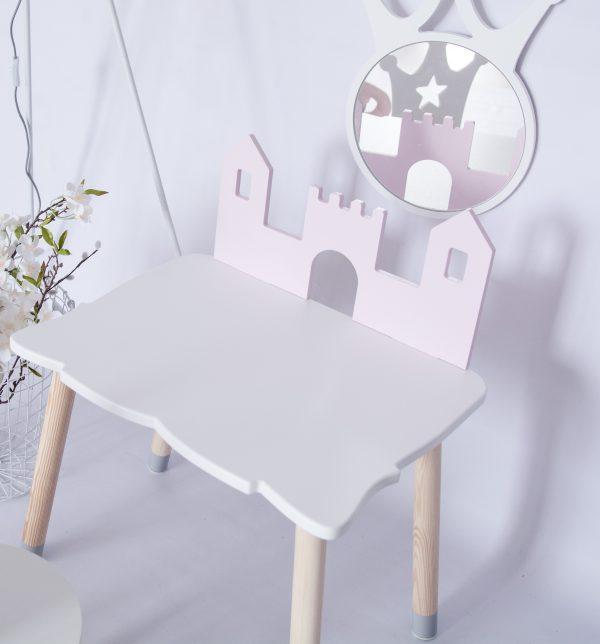 Table enfant - château